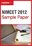 NIMCET Sample Paper 2012