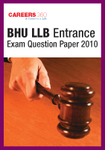 BHU LLB Entrance Exam Question Paper 2010
