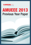 AMUEEE 2013 Previous Year Paper