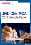 JNU CEE MCA 2013 Sample Paper