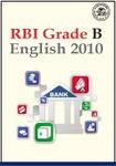 RBI Grade B - English 2010