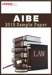 AIBE 2015 Sample Paper
