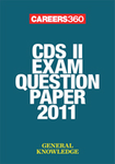 CDS II exam question paper 2011- General Knowledge