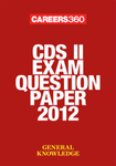 CDS II exam question paper 2012- General Knowledge