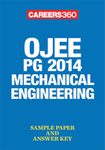 OJEE PG 2014 Mechanical Engineering Sample Paper & Answer Key