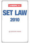 SET Law 2010 Question Paper