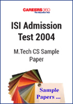 ISI Admission Test 2004 M.Tech CS Sample Paper