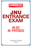 JNU Entrance Exam - M.Sc in Physics Sample Paper - 2013