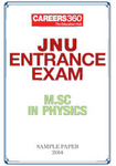 JNU Entrance Exam - M.Sc in Physics Sample Paper - 2014