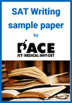 SAT Writing sample paper by PACE