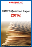 UCEED Question Paper 2016
