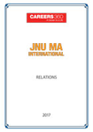 JNU MA Internal Relations Sample Papers 2017