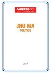 JNU MA Politics Sample Papers 2017