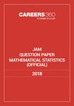 JAM Mathematical Statistics Sample Paper 2018