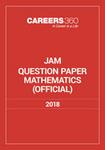 JAM Mathematics Sample Paper 2018