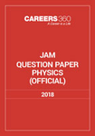 JAM Physics Sample Paper 2018