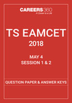TS EAMCET Question Papers and Answer keys - May 4