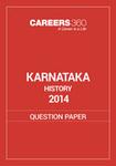 Karnataka 12th History Question Paper 2014
