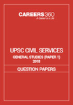 UPSC Civil Services General Studies 2018 Sample Paper I
