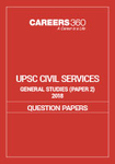 UPSC Civil Services General Studies 2018 Paper II