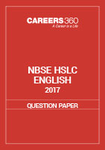 NBSE HSLC 2017 Question Paper - English