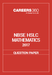 NBSE HSLC 2017 Question Paper - Mathematics