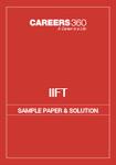 IIFT Sample Paper