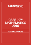 CBSE Sample Paper for class 10 Maths (2016)