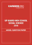 UP Board 10th Model Paper (Social science)