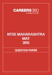 NTSE Maharashtra MAT Question Paper 2015