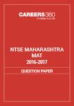 NTSE Maharashtra MAT Question Paper 2016-17