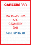 Maharashtra SSC Question Papers 2016 geometry