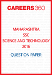 Maharashtra SSC Question Papers 2016 Science and Technology