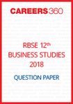 RBSE 12th Business Studies Question Paper 2018