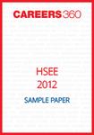 HSEE Sample Paper 2012