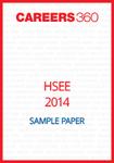 HSEE Sample Paper 2014