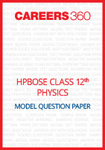 HPBOSE Class 12 Model Question Paper Physics