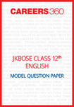 JKBOSE Class 12 Model Question Paper English
