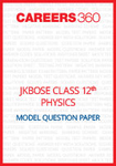 JKBOSE Class 12 Model Question Paper Physics