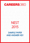 NEST Sample Paper and Answer Key 2015