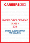 Unified Cyber Olympiad Sample Question Paper and Solution Class 4 2018