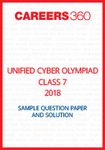 Unified Cyber Olympiad Sample Question Paper and Solution Class 7 2018