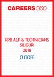 RRB ALP & Technicians Siliguri 2018 Cutoff