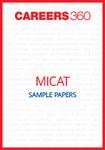 MICAT Sample Papers