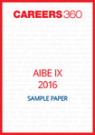 AIBE IX 2016 Sample Paper