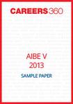 AIBE V 2013 Sample Paper