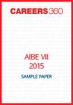 AIBE VII 2015 Sample Paper