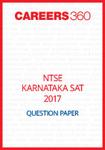 NTSE Karnataka SAT Question Paper 2017