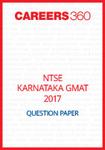 NTSE Karnataka GMAT Question Paper 2017