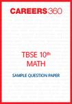 TBSE Class X Math Sample Question Paper